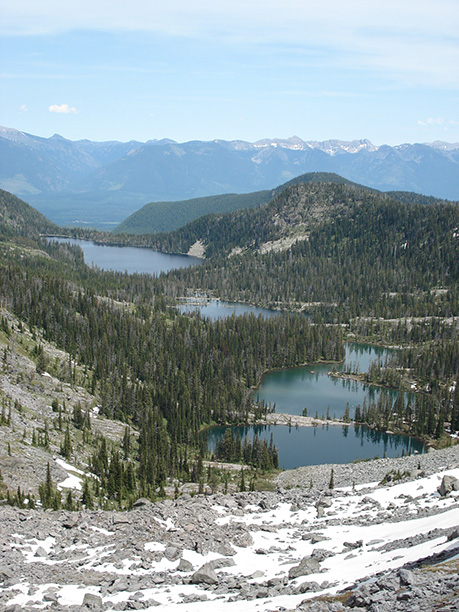 Ducharme & Piper Lakes, Mission Mtns Wilderness