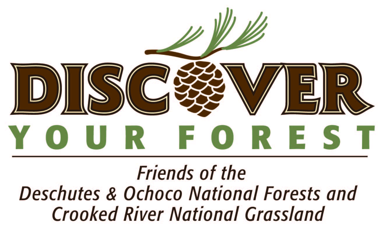 Logo of Discover Your Forest, a steward of the Deschutes and Ochoco National Forests