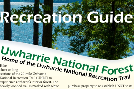 The Uwharrie National Forest Recreation Guide is Available.
