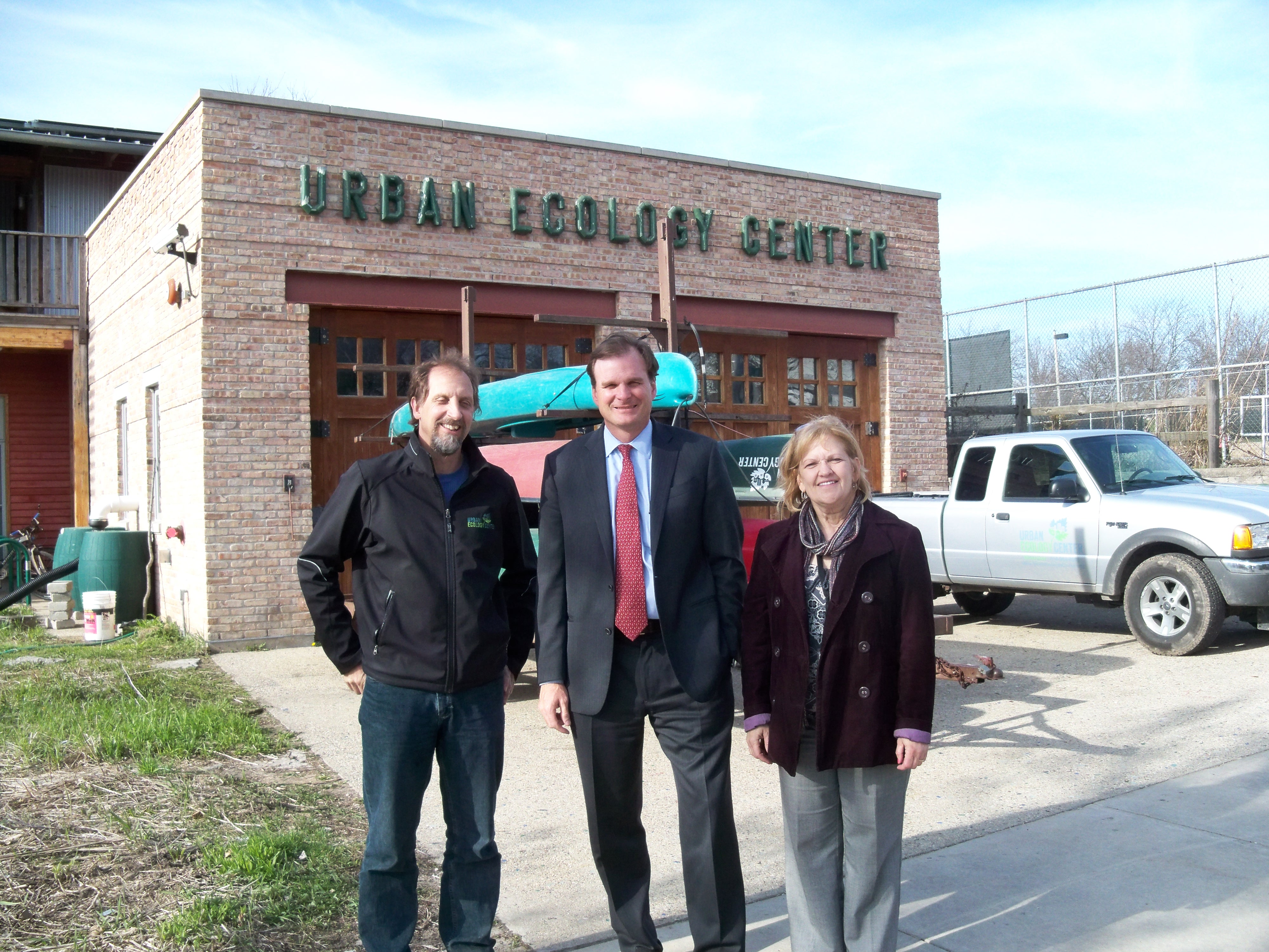 USDA Under Secretary Bonnie visits Urban Ecology Center