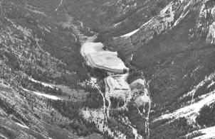 Aerial View of Holden Mine Area