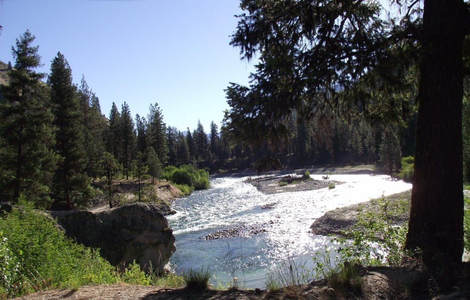 Boise to Stanley - Following the South Fork Payette River
