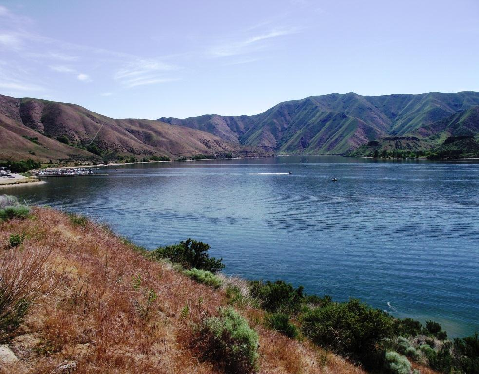 Lucky Peak Reservoir