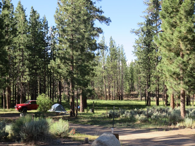 San Bernardino National Forest Big Pine Flat Family Campground