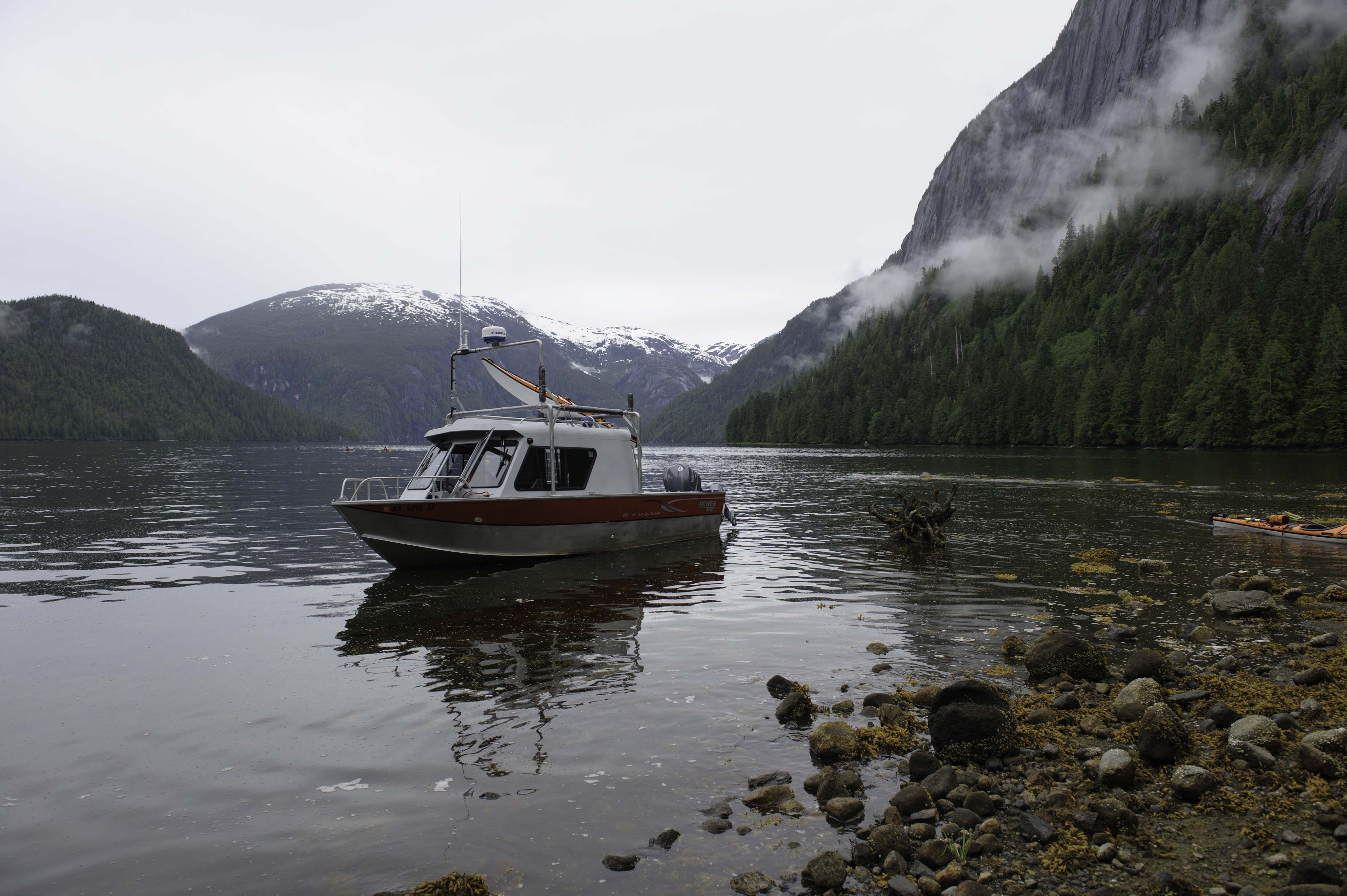 Boat on the Tongass