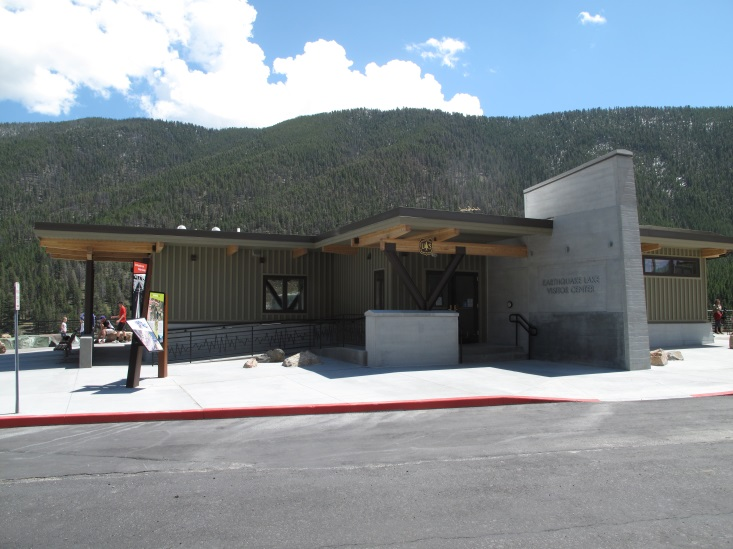 View of Visitors Center