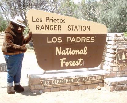 [image] Smokey Bear   Los Prietos Ranger Station
