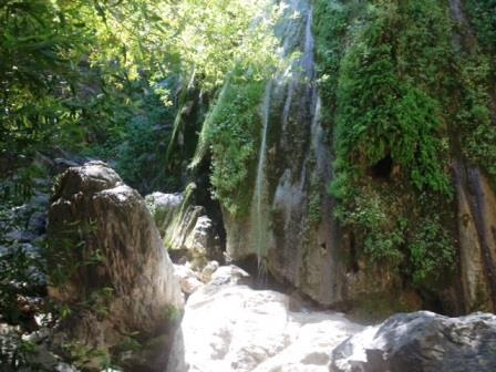 Los Padres National Forest - Rose Valley Falls Trail