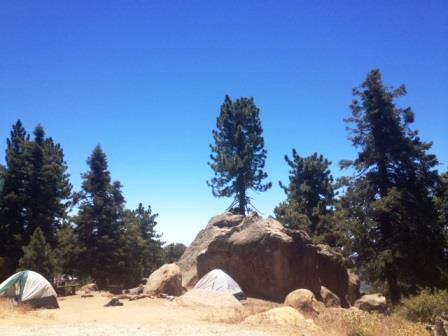 Los Padres National Forest - Reyes Peak Campground