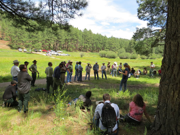 USFS and ranchers meet on the Santa Fe