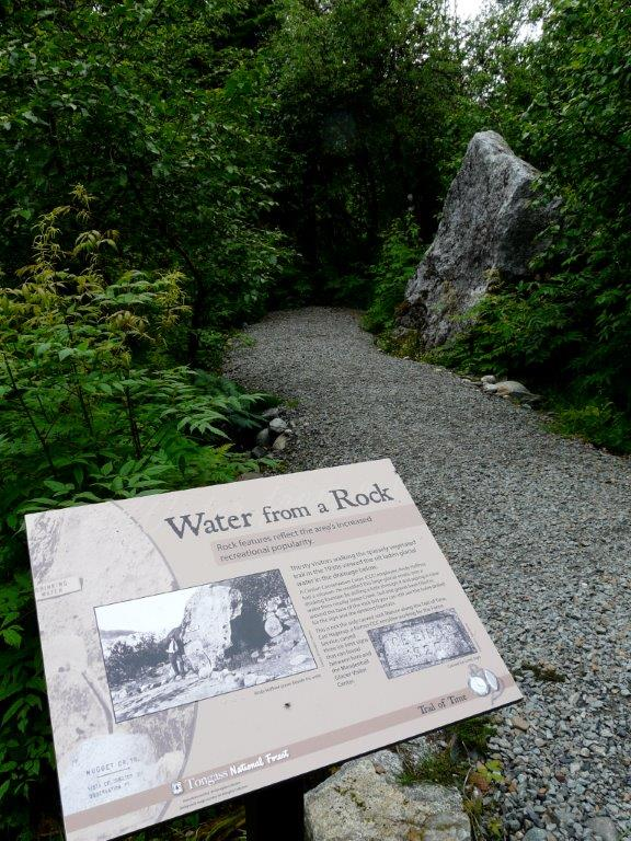 Mendenhall Interpretive Sign