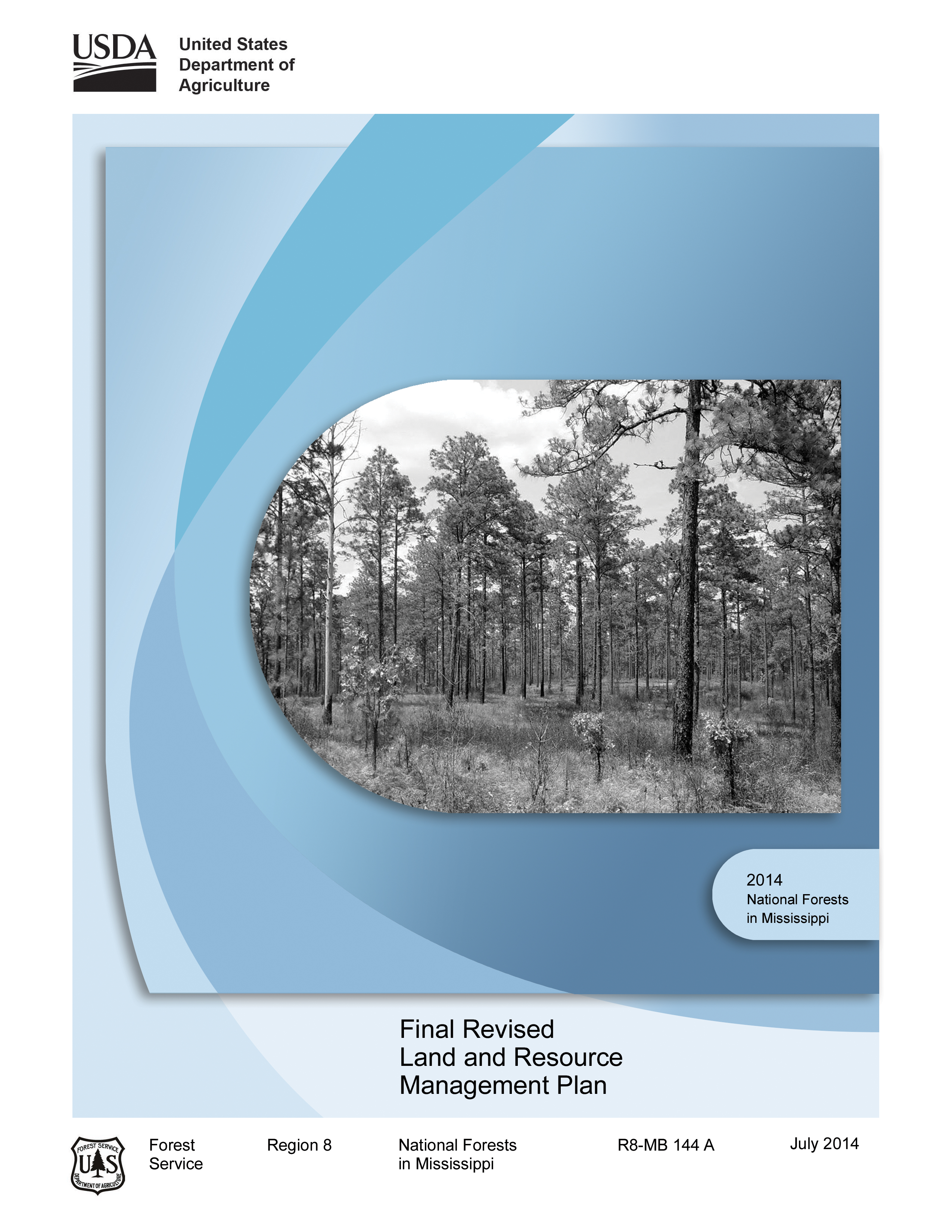 Cover page for the Final Plan 2014 document