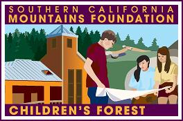 This is the logo for the Southern California Mountains Foundation