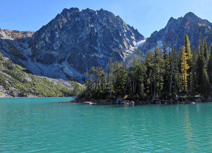 Okanogan-Wenatchee National Forest - Colchuck Lake Trail #1599A