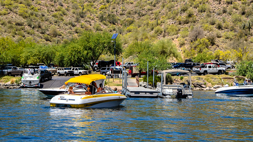 Saguaro Lake Boats and Docks