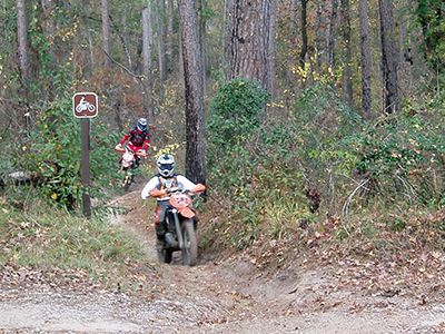Multi-Use Trail Motorcyle Riders