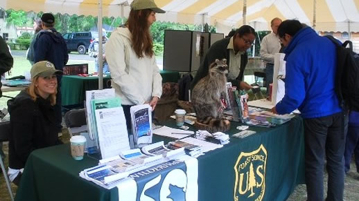 Volunteers at Wakula Wildlife Fest