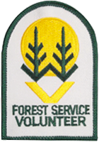 US Forest Service Volunteer Patch