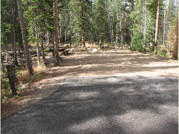 Chambers Lake Campground Site #6