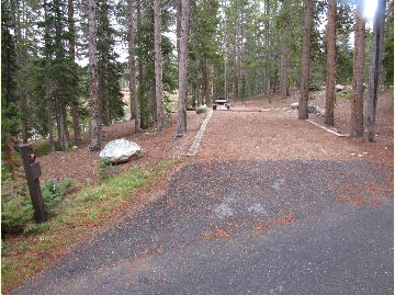 Chambers Lake Campground Site #21
