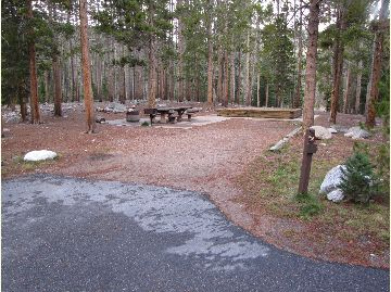 Chambers Lake Campground Site #26