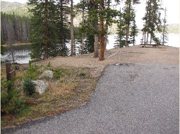 Chambers Lake Campground Site #34