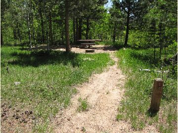 Jacks Gulch Campground Columbine Loop Walk-in Site C