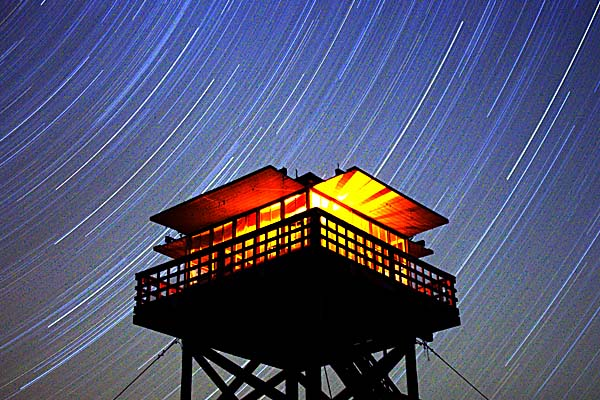 Star Trails from Poker Jim Lookout