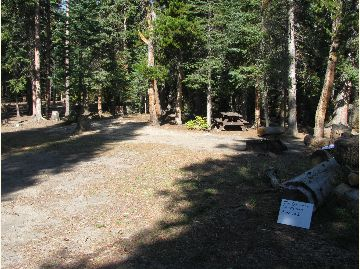 Tom Bennett Campground Campsite #1