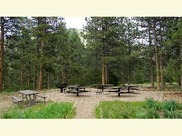 Mountain Park Group Campground Area
