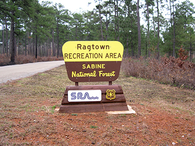 Ragtown Portal Sign - Sabine N.F.