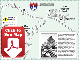 S-Tree Campground Map