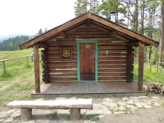 Wapiti Cabin, Located on the Hebgen Lake Ranger District, Available as Rental Cabin