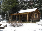 Cabin Creek Cabin, Hebgen Lake Ranger Distict, available for rent