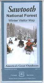 Cover of the winter visitor map