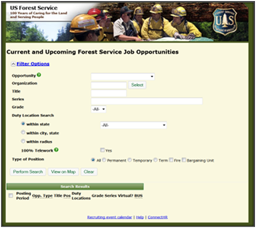 USFS Outreach page icon
