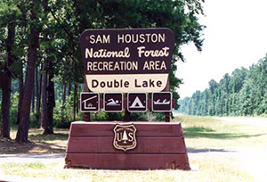 SHNF - Double Lake Entrance Sign