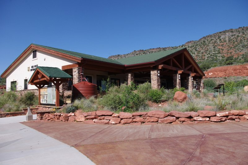 Red Rock Ranger Station Vistor Center Exterior