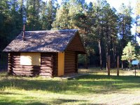 Pinchot Cabin at the Houston Brothers Trailhead (2003)