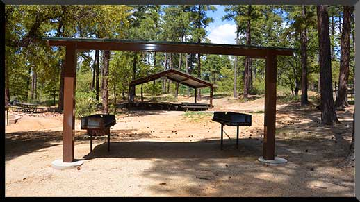 Shade ramada, grills, and picnic tables perfect for group gatherings.
