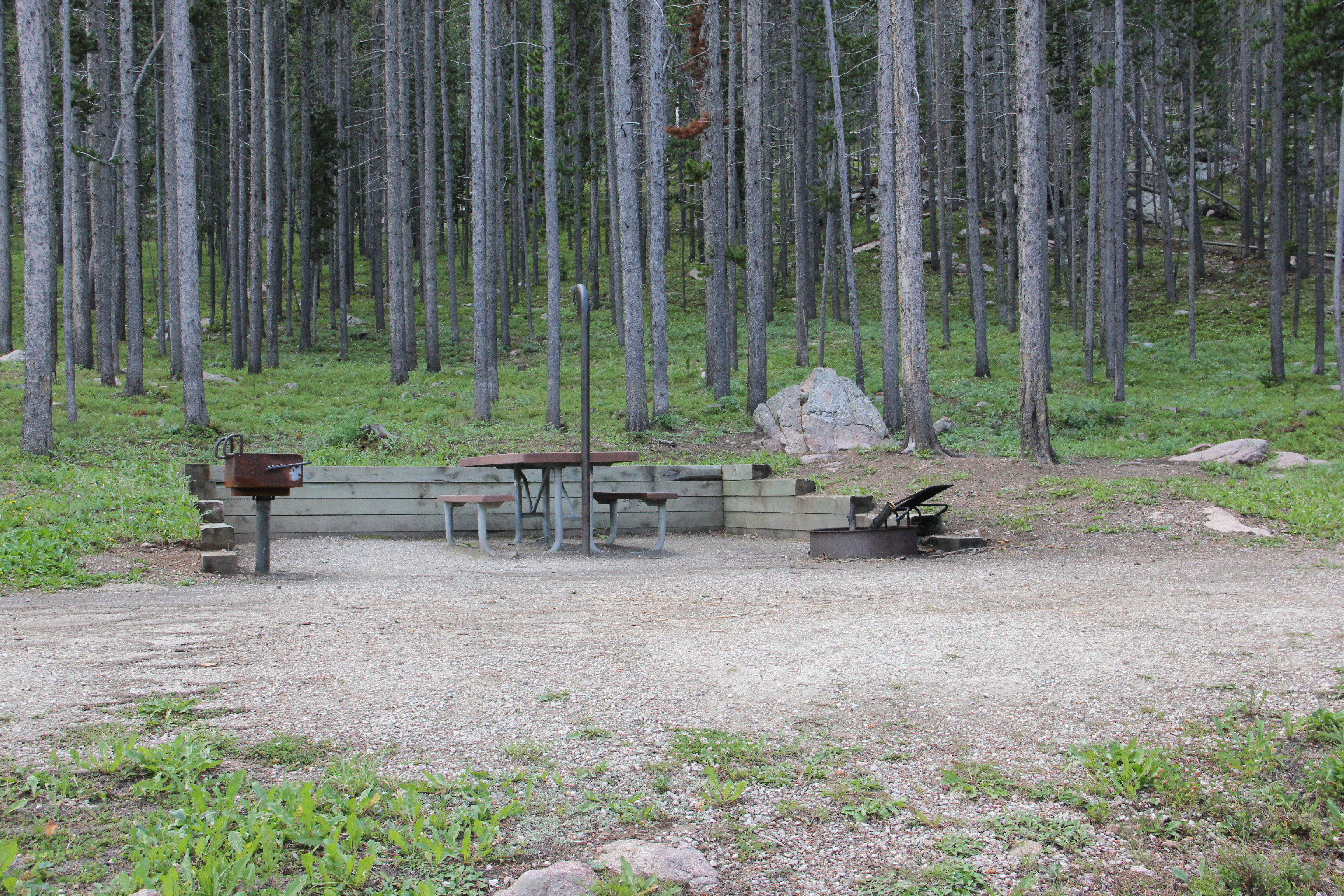 photo of a campsite