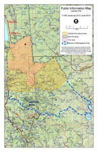 Map Of Arizona Fires 2015.Coconino National Forest News Events