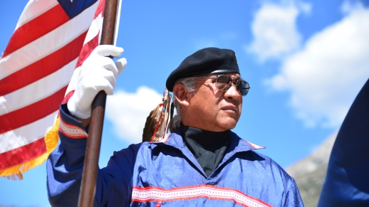The Spring Mountains Visitor Gateway grand opening celebrated the blending of ancestral Native American culture and American patriotism on the 128-acre campus just outside Las Vegas, Nevada.