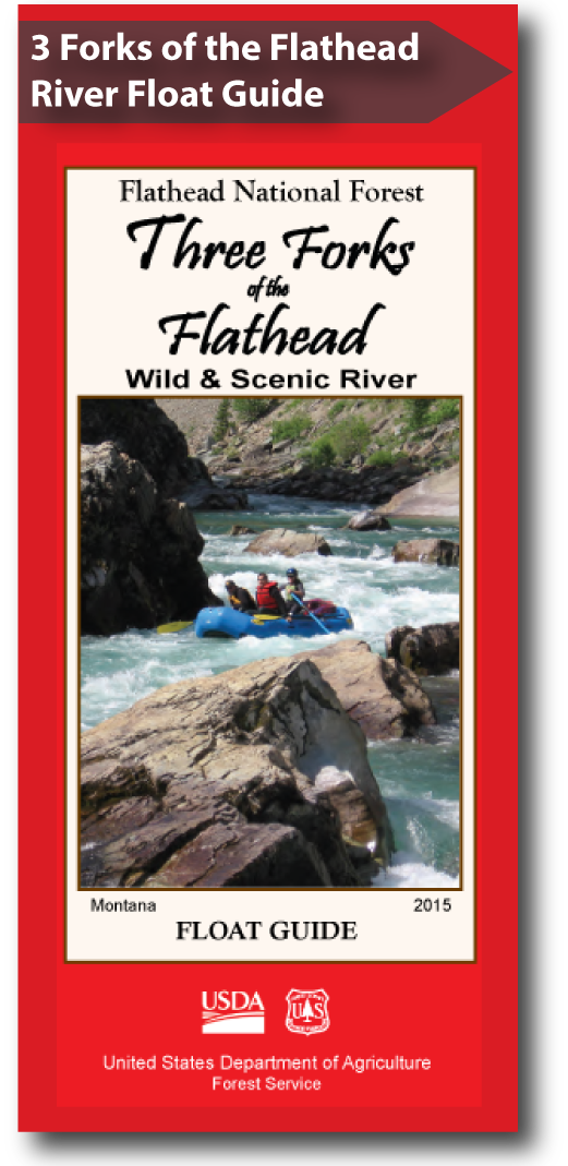 Cover of the 2015 Flathead National Forest Float Guide