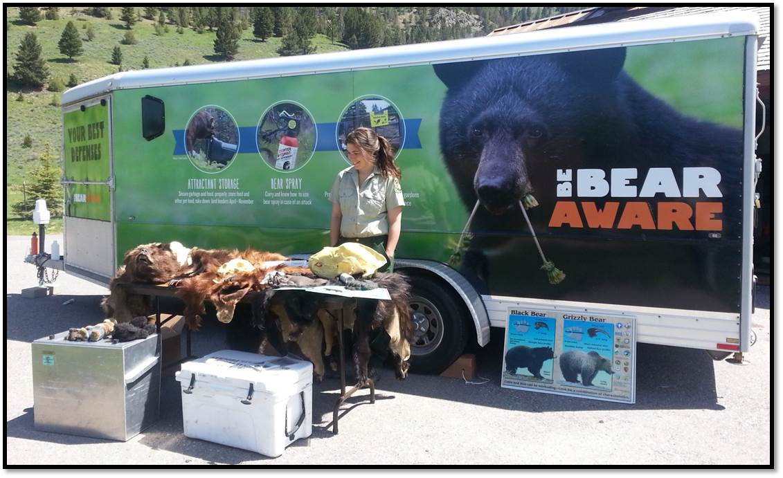 Be Aware Trailer and Educational Display