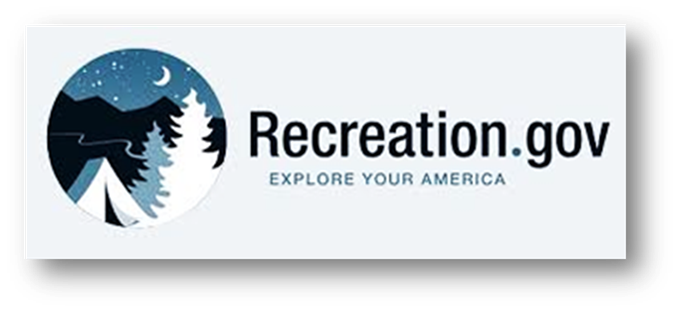 Visit Recreation.gov to reserve a campsite
