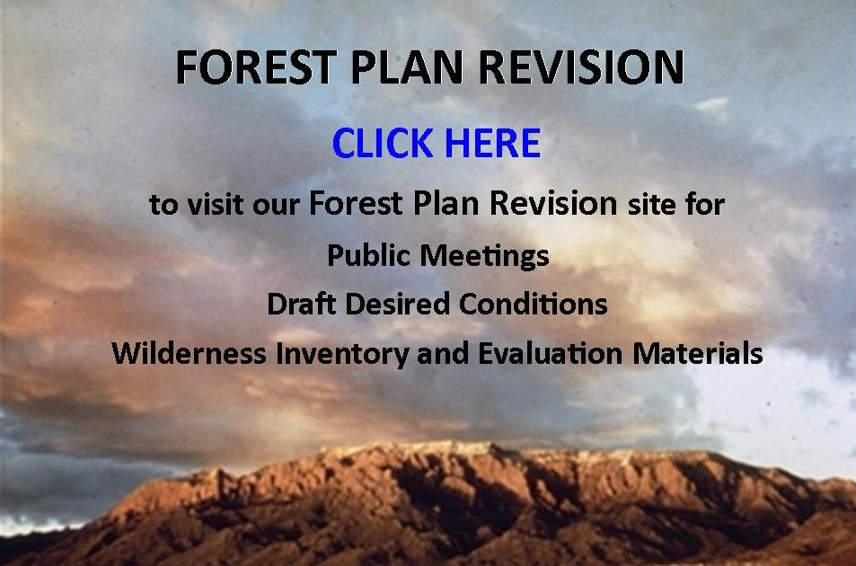 Forest Plan Revision Info CLICK HERE