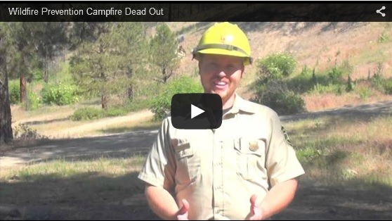 Click the photo to view a video about wildfire prevention.