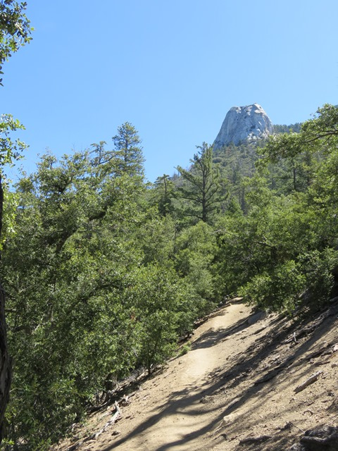 This easy trail has fantastic views of the large granite rock known as Lily Rock.