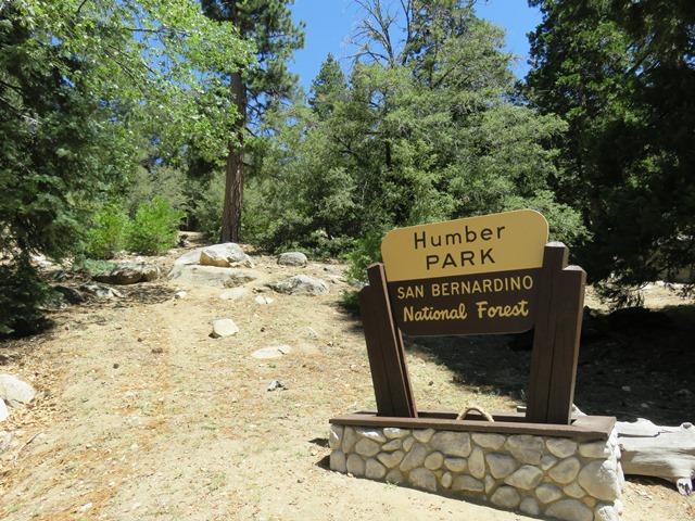 San Bernardino National Forest - Humber Park Trailhead Parking
